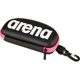 arena Goggle Case, nero/rosa